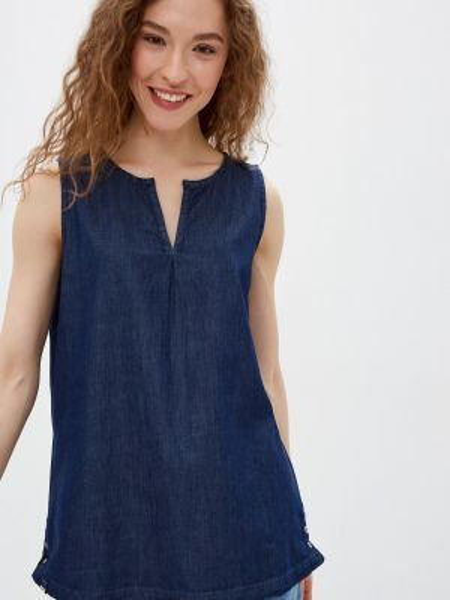 Синяя блузка без рукавов Regatta