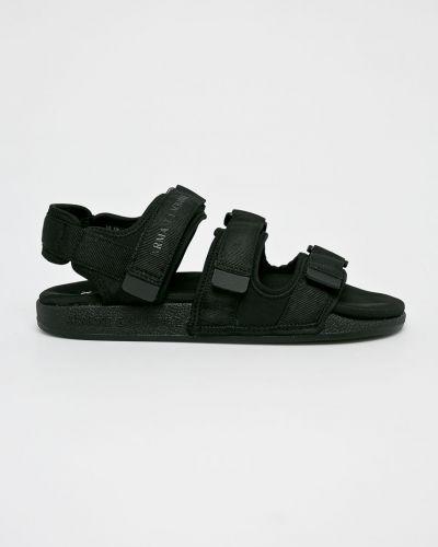 Спортивные сандалии черные Armani Exchange