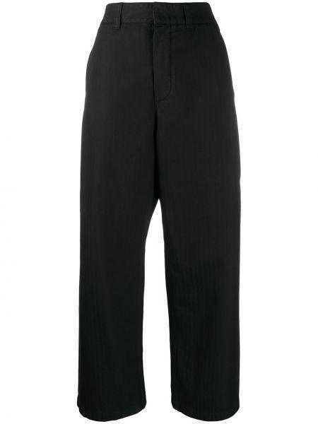 Укороченные брюки расклешенные с поясом Department 5