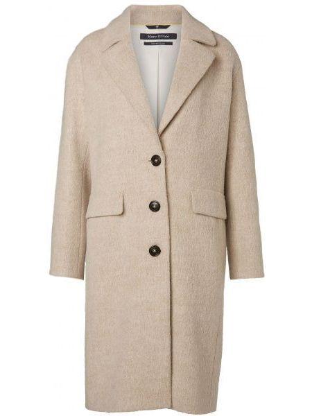 Текстильное повседневное пальто с капюшоном Marc O'polo