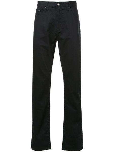 Czarne jeansy bawełniane Kent & Curwen