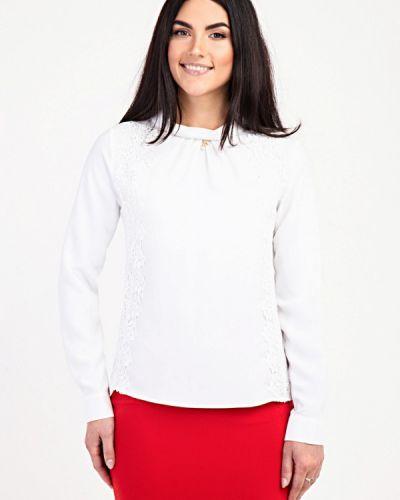 Блузка с длинным рукавом белая Das