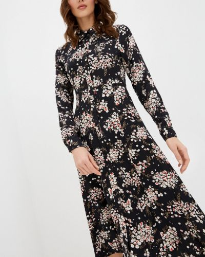 Черное платье-рубашка Marks & Spencer