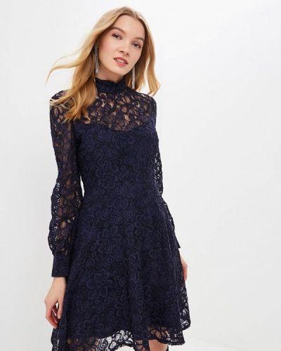 Вечернее платье весеннее синий Love Republic