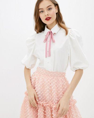 Блузка с коротким рукавом белая Sister Jane