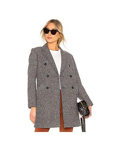 Пальто шерстяное на пуговицах A.p.c.