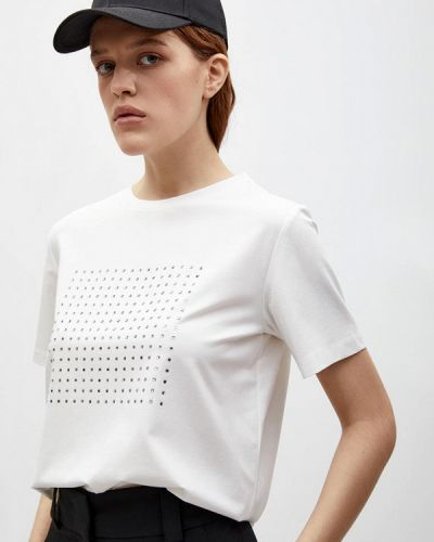 С рукавами белая футболка Lime