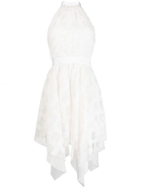 Платье миди с открытой спиной с рукавами Blumarine