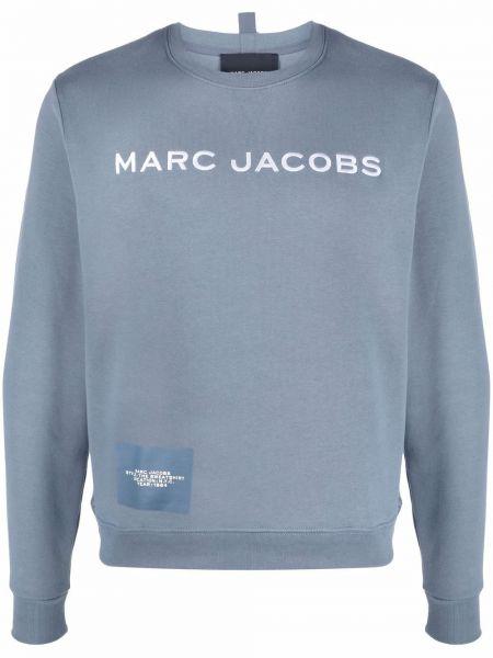 Толстовка длинная - синяя Marc Jacobs