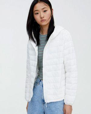 Утепленная куртка демисезонная осенняя Pull&bear