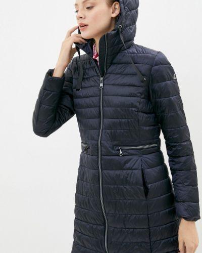 Теплая синяя куртка Luhta