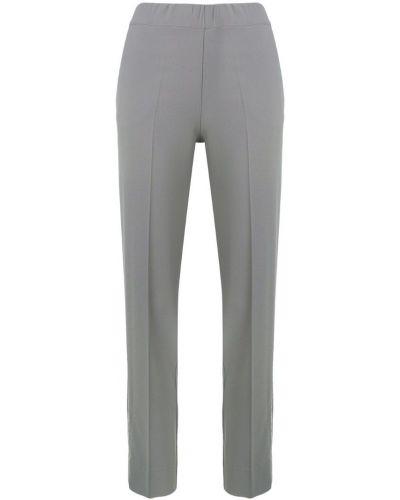 Приталенные прямые классические брюки с поясом D.exterior