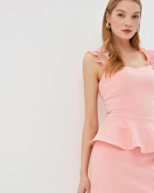 Блузка без рукавов розовая весенний Love Republic