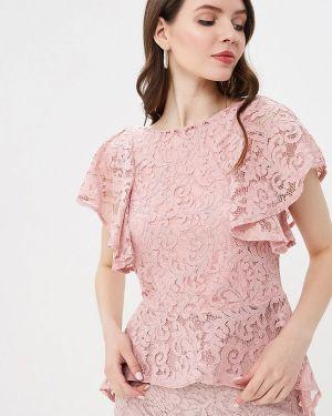Блузка с длинным рукавом розовая Zarina