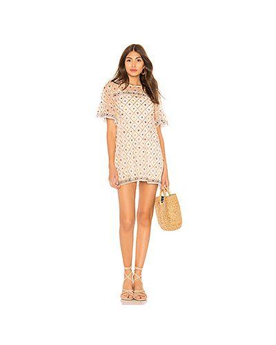 Платье мини футляр в стиле бохо Tularosa