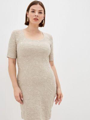 Бежевое платье летнее Marytes
