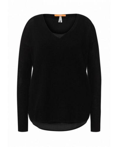 Черный пуловер Boss Orange