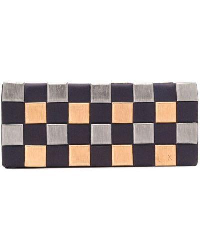 Fioletowa złota kopertówka Chanel Pre-owned