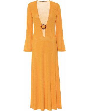 Летнее платье из штапеля вязаное Dodo Bar Or