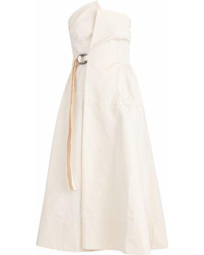Платье миди с запахом хлопковое Marni