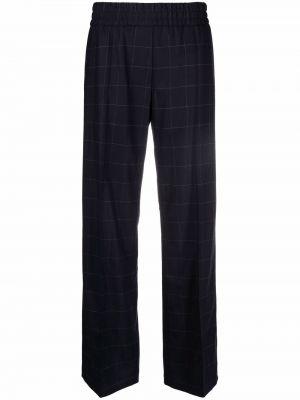 Синие шерстяные брюки Ps Paul Smith