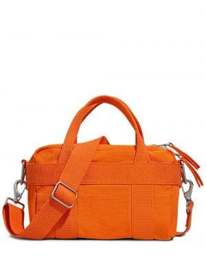 Pomarańczowa torebka mini bawełniana Calvin Klein 205w39nyc