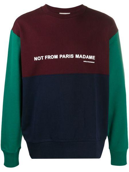 Prążkowany sweter bawełniany Drole De Monsieur
