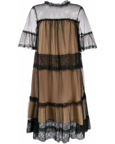 Платье из фатина на пуговицах Twin-set