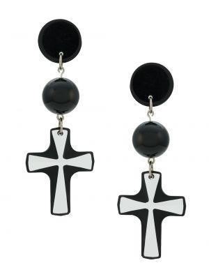 Czarny krzyż z motylem Amir Slama