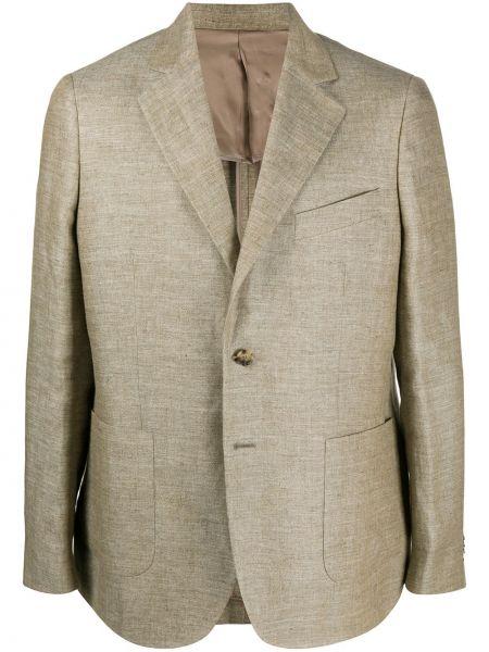 Однобортный классический пиджак на пуговицах с карманами из вискозы A Kind Of Guise