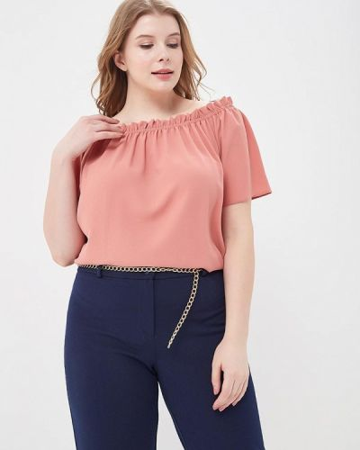 Розовая блузка Dorothy Perkins Curve