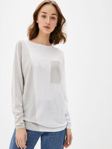 Белый свитер Baon