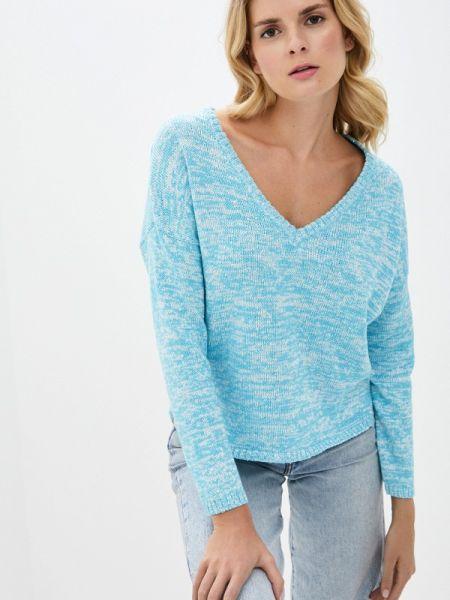 Пуловер - голубой Nice & Chic