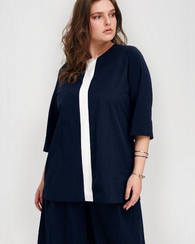 Блузка синяя весенний W&b