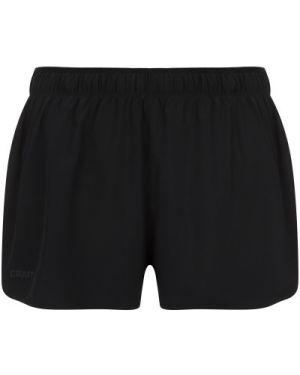Свободные черные спортивные шорты свободного кроя для фитнеса Craft