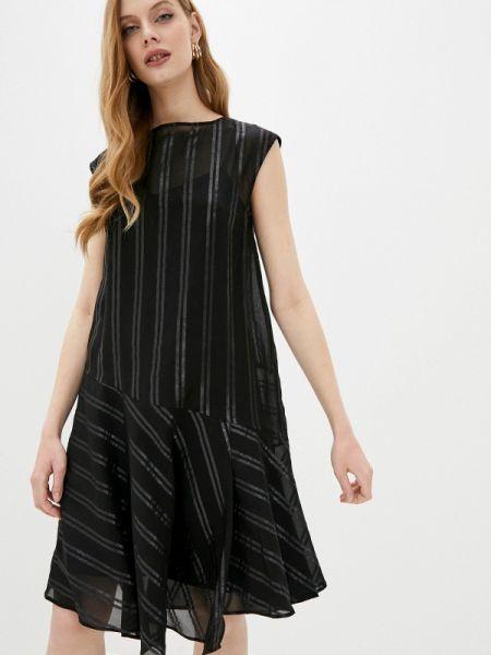 Повседневное платье черное весеннее Max&co