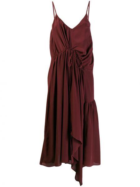Платье с поясом платье-комбинация на бретелях Christian Wijnants