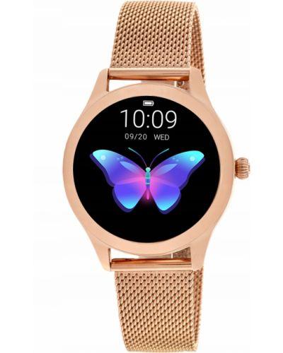 Różowy złoty sport zegarek sportowy Rubicon