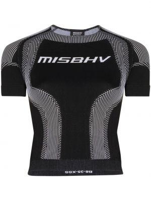 Синяя футболка с круглым вырезом Misbhv