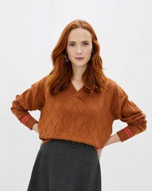 Пуловер - коричневый Sweewe