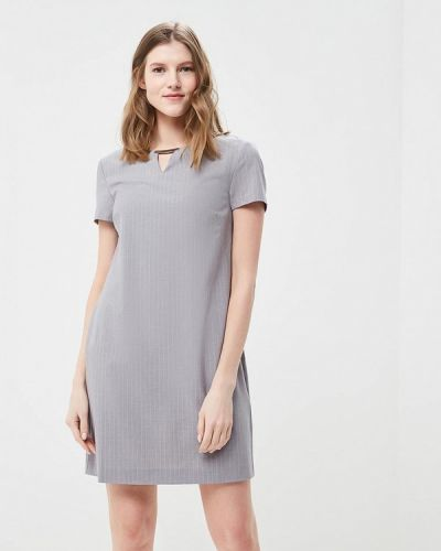 Прямое серое платье Top Secret