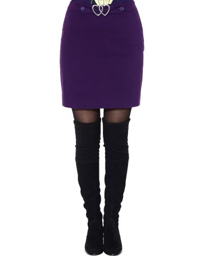 Юбка фиолетовый Love Moschino
