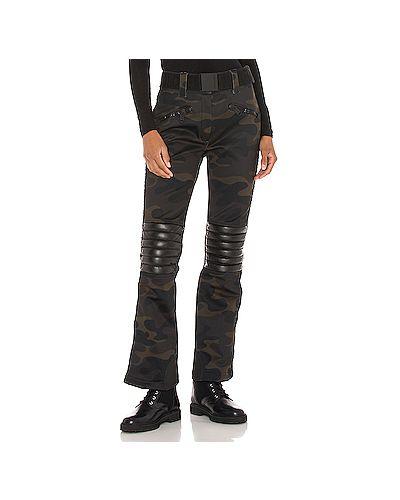 Кожаные брюки с карманами милитари Goldbergh