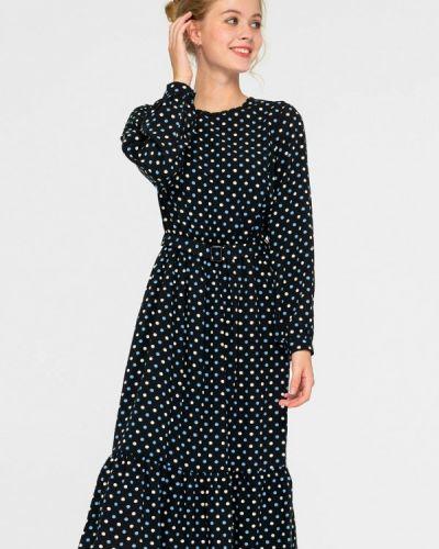 Прямое черное платье Shtoyko