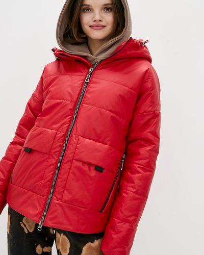 Куртка оверсайз - красная Modniy Oazis