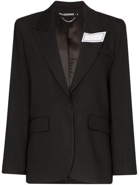 Черный пиджак Filles A Papa