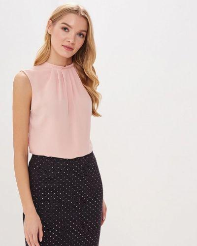 Блузка без рукавов розовая осенняя Classik-t