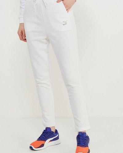 Белые спортивные брюки Puma
