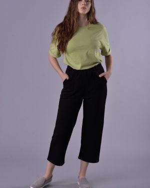 Летние брюки из футера Mix-mode