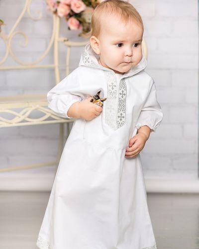 Платье с рукавами хлопковое расклешенное Alivia Kids